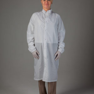 Cleanroom Frock, Snap Front, Altessa Stripe